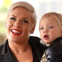 Watch Pink's Son Jameson, 2, Ride an Electric Bike for the First Time