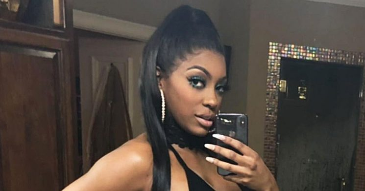Pregnant Porsha Williams Was 'Feeling Herself' on Valentine's Day Date: Pics