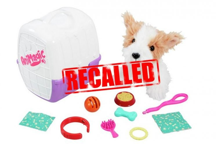 Animagic My First Puppy toy sold in Argos, Tesco and Amazon recalled over fears kids could CHOKE