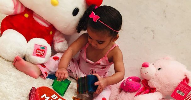 So Cute! 19 Celebrity Kids Celebrating Valentine's Day 2019: Pics