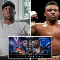 Anthony Joshua announces next fight against Jarrell 'Big Baby' Miller in New York on June 1
