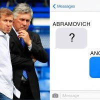 Unhappy Chelsea owner Roman Abramovich used to text former boss Ancelotti a question mark whenever the team lost
