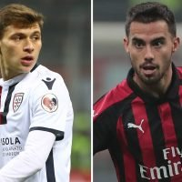 Arsenal send scouts to watch AC Milan ace Suso and Cagliari's Barella ahead of summer transfer swoop