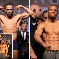 Chris Eubank Jr weights in pound heavier than DeGale after admitting struggle with mental battle against bigger fighter
