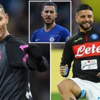 Chelsea eye Insigne and Richarlison as Eden Hazard replacements this summer