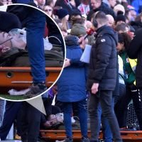 Leeds starlet Jack Clarke 'responsive' after being rushed to hospital following collapse in dugout at Middlesbrough