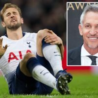 Spurs legend Gary Lineker fears for Harry Kane's recurring ankle injury