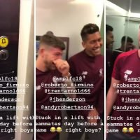 Dejan Lovren concerned as Liverpool stars stuck in lift before Bayern Munich Champions League clash