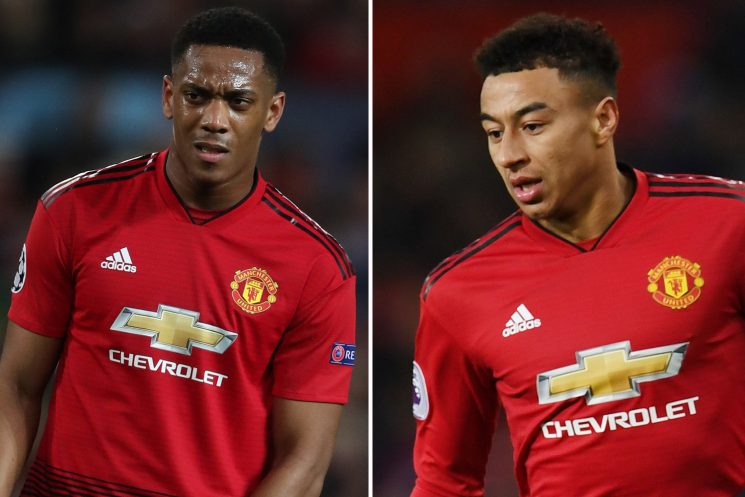 Man Utd boost with Martial and Lingard set for early return from injury to face Liverpool on Sunday