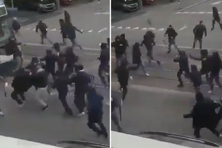 Napoli fans clash with FC Zurich supporters outside stadium ahead of Europa League tie