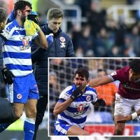 Tyrone Mings apologises after brutal stamp on Reading's Oliveira leaves face pouring with blood