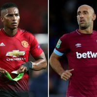 West Ham to make move for Man Utd captain Valencia if Zabaleta retires at end of season