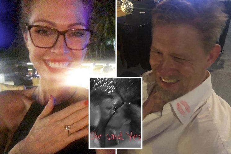 Man Utd legend Peter Schmeichel gets engaged to stunning partner Laura von Lindholm