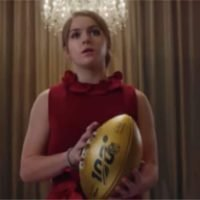 Who is the girl in the NFL 100 commercial? Sam Gordon, Sarah Thomas, and Beth Mowins all feature