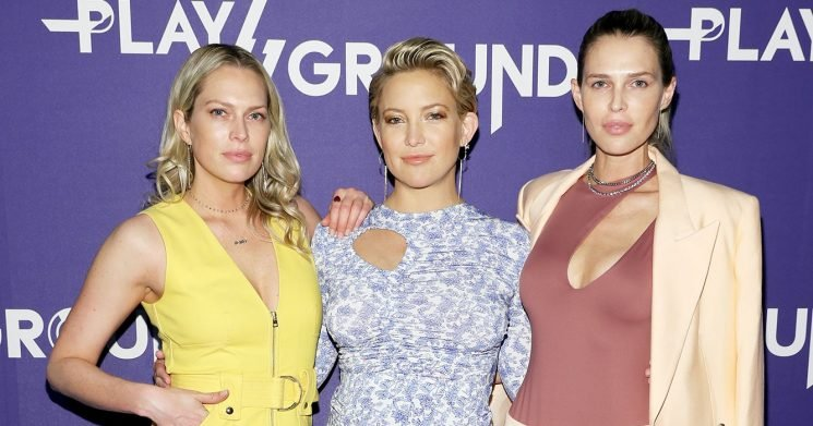 Sara and Erin Foster Praise Busy Mom Kate Hudson for Her Hands-On Parenting