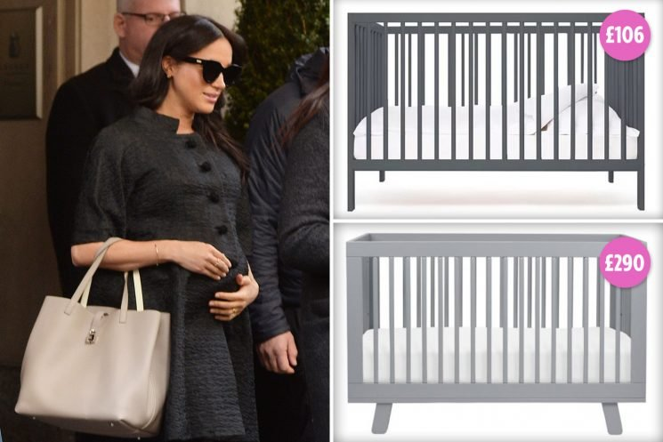 Meghan Markle gifted a £290 convertible crib at New York baby shower by pals – here's where to get a lookalike version for less