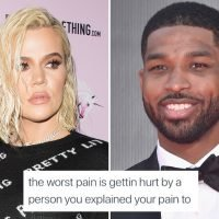 Khloe Kardashian says she's in 'the worst pain' after split with Tristan Thompson and likes a tweet slamming him as 'a sick man'