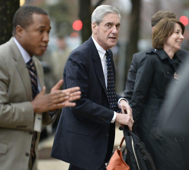 Wait, Robert Mueller could be filing his final report as soon as next week?!