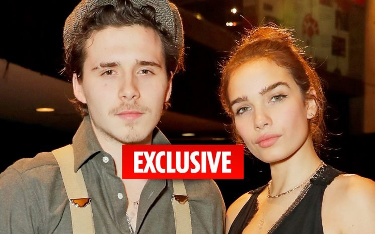 Loved-up Brooklyn Beckham gets own 'home' in £31million family mansion for extra privacy with girlfriend Hana Cross