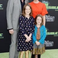 Family Night Out! Alyson Hannigan Takes Husband and Lookalike Daughters to Kim Possible Premiere
