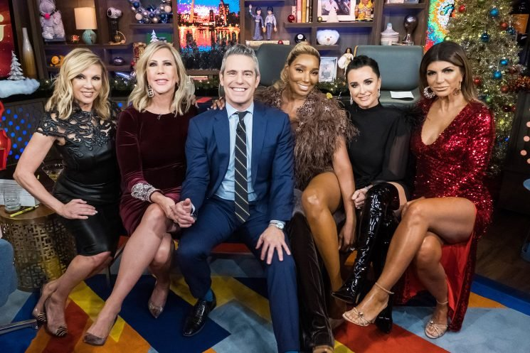 Real Housewives Give Their Best Parenting Advice to First-Time Dad Andy Cohen