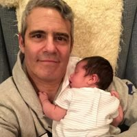 Andy Cohen Marks His First Week Back at Work Since Baby Benjamin's Arrival