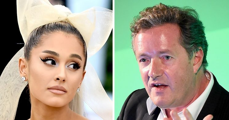 Ariana Grande, Piers Morgan End Feud After 3 Months: We 'Like Each Other'