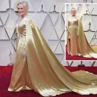 Oscars 2019: Glenn Close drags stunning dress weighing THREE STONE as she vies for her first Best Actress at the Academy Awards