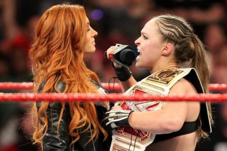 Becky Lynch and Ronda Rousey planned as WrestleMania 35 main event in WWE first for women