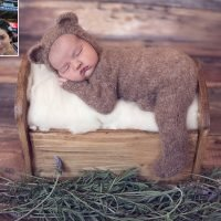 The Bachelor's Bekah Martinez Shares a Beary Adorable Newborn Photo of Her Daughter Ruthie Ray