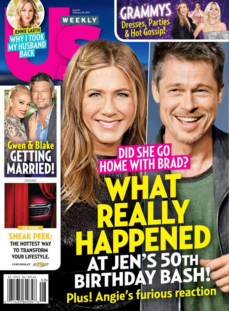Brad Pitt & Jennifer Aniston 'have been getting close' in the wake of his split with Jolie
