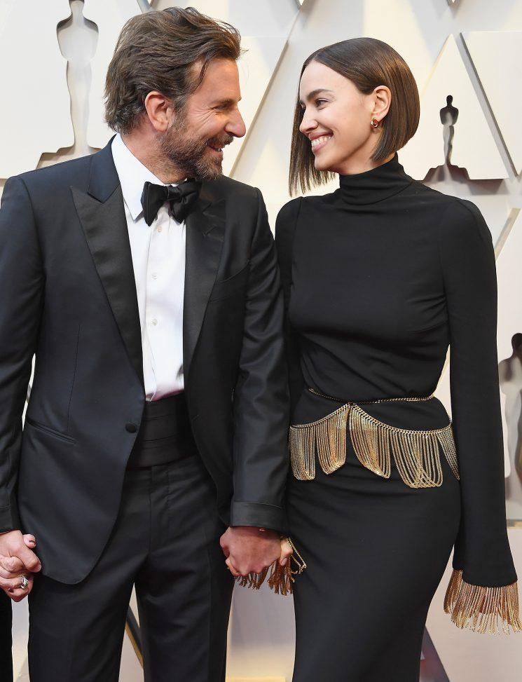 Bradley Cooper and Irina Shayk Are Super Flirty on the Oscars Red Carpet