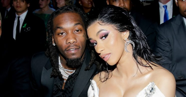 So Sweet! See Cardi B's First Family Photo With Baby Kulture and Offset