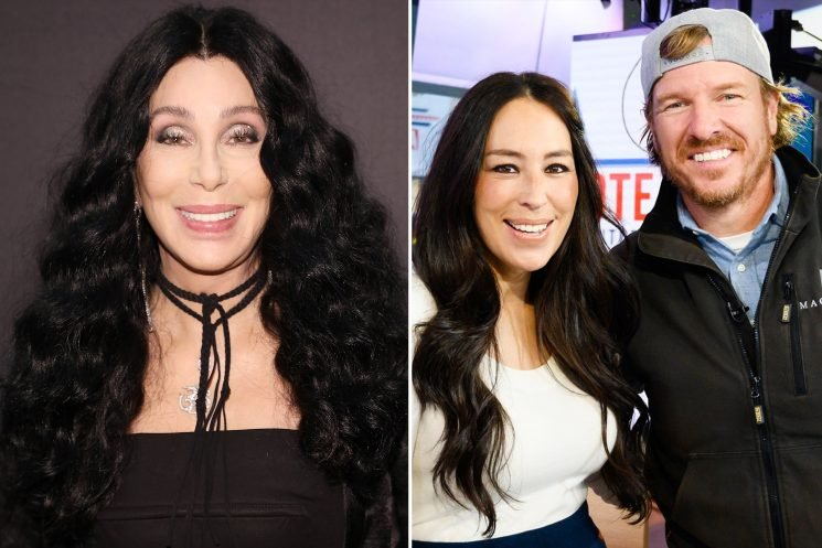 Cher Admits She Likes to 'Check In' on Chip and Joanna Gaines —and Chip Gives Her a Life Update