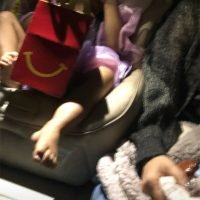 Chrissy Teigen Gets Emotional as Daughter Luna Eats Her Very First McDonald's Happy Meal
