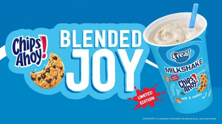 Chips Ahoy Milkshakes Just Hit A TON Of Convenience Stores