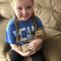 Terminally Ill Girl with Rare Brain Tumor Wants Love Letters From Dogs for Comfort