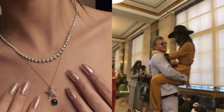 Emily Ratajkowski Celebrates First Wedding Anniversary with Topless Photo