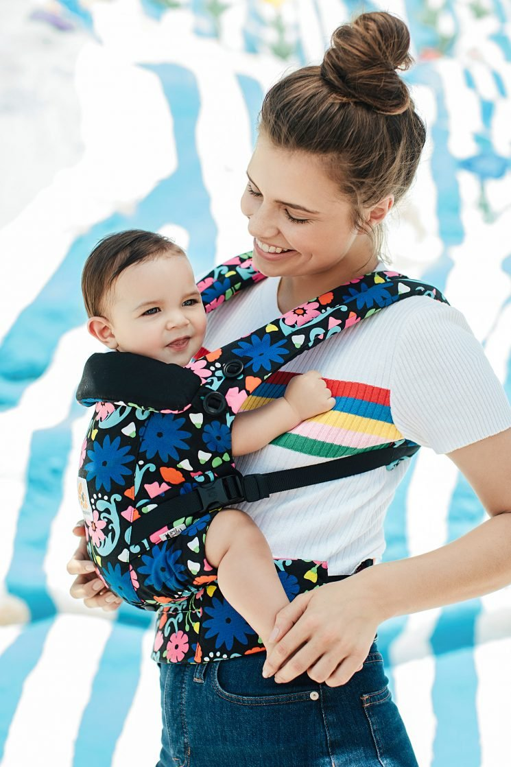 Ergobaby Teams Up with French Bull for Limited Edition Floral Carriers, Swaddles and Sleep Bags
