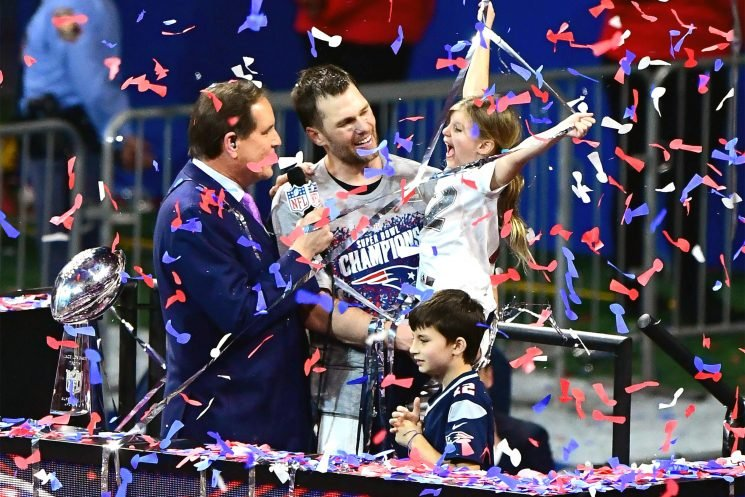 Tom Brady's Kids Join Him on Podium After His Sixth Super Bowl Win