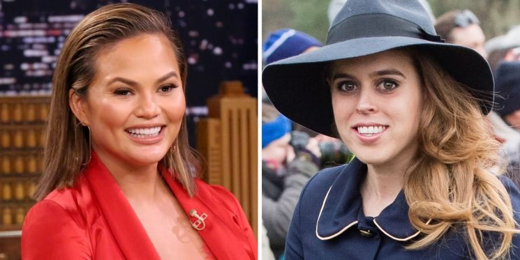 Princess Beatrice Just Offered to Be Chrissy Teigen's Goddaughter