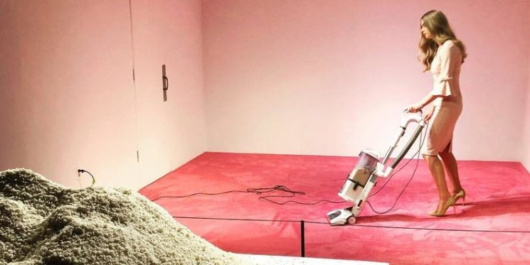 Is Ivanka Trump Vacuuming Performance Art? Does It Matter?