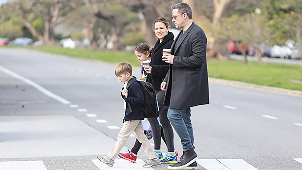 Exes Ben Affleck & Jennifer Garner Look Happy Together Again With Their Kids On Morning, Family Outing