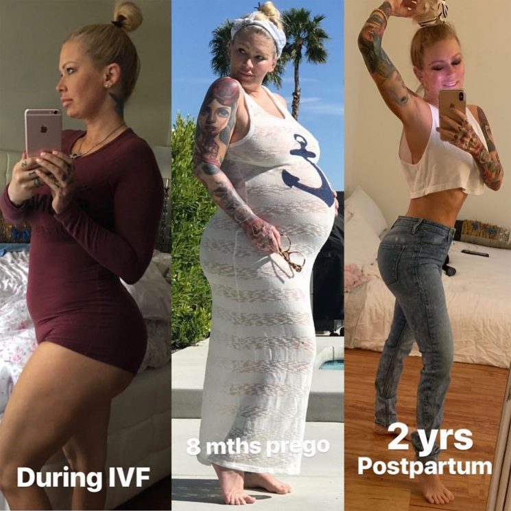 Jenna Jameson Celebrates Being an 'IVF Warrior' and Reflects on the Impact of Pregnancy on Her Body
