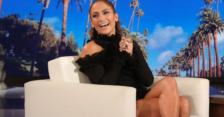 Jennifer Lopez Reveals 50th Birthday Tour, Tries Hard Not to Talk About A-Rod's Penis on 'Ellen'
