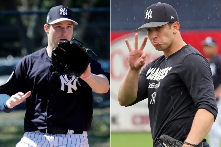 The two front-runners in heated battle for Yankees bullpen spots