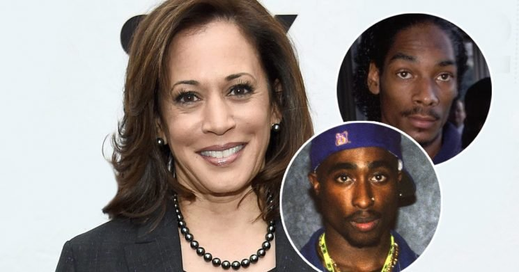Kamala Harris Claims She Listened to Snoop Dogg & 2Pac While High in College — Years Before They Put Out Music