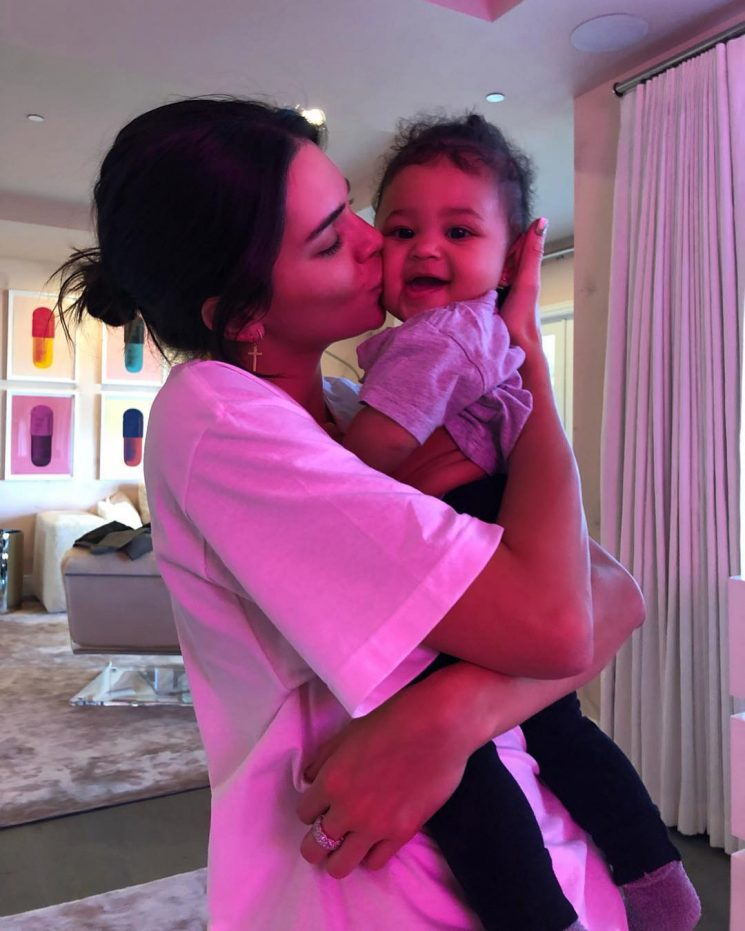 Kendall Jenner Was 'So Upset' She Missed Niece Stormi's Birthday Party – but She FaceTimed In!