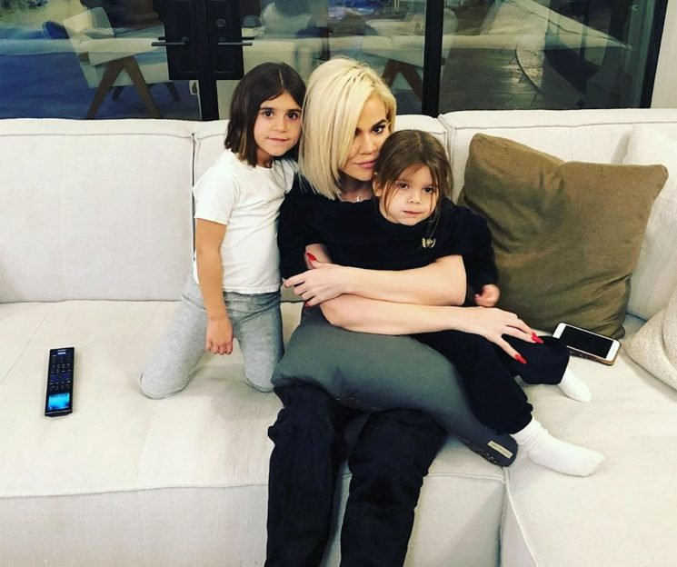 Khloe Kardashian Cuddles with Niece and Nephew as Scott Disick Dubs Them the 'Three Musketeers'