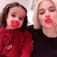 Khloe Kardashian's Niece Dream Adorably Attempts to Apply Lipstick – See the Creative Results